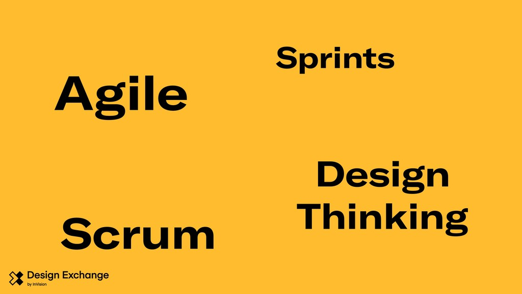 Agile Design Thinking Scrum Sprints