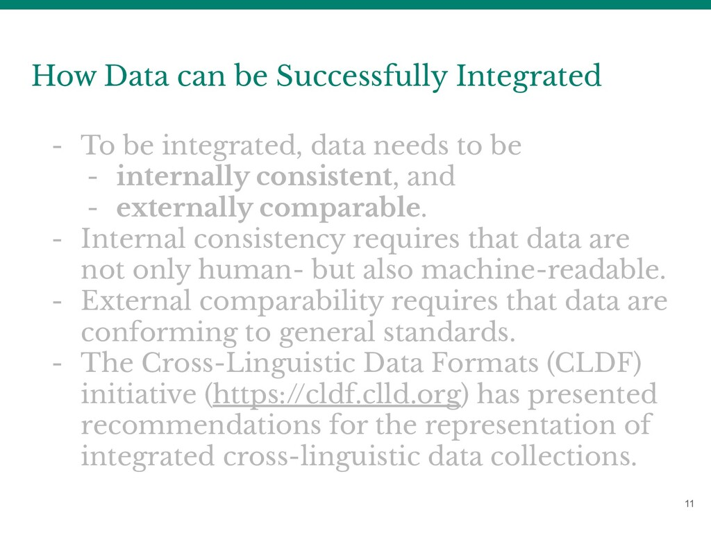 11 How Data can be Successfully Integrated - To...