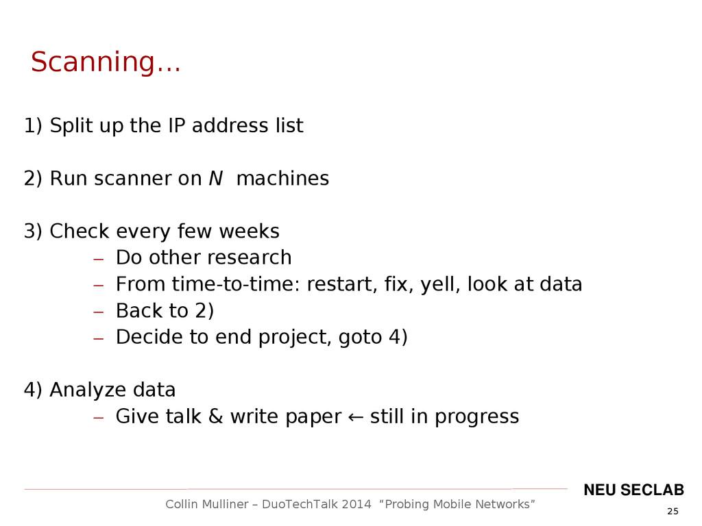 """25 Collin Mulliner – DuoTechTalk 2014 """"Probing ..."""