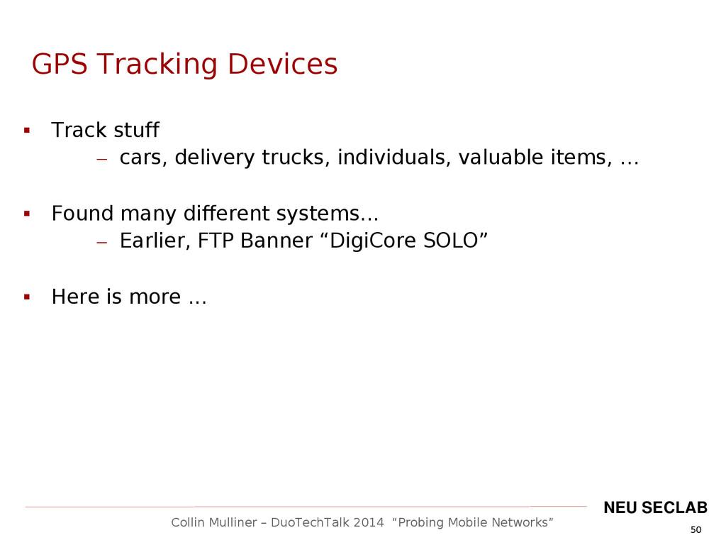 """50 Collin Mulliner – DuoTechTalk 2014 """"Probing ..."""