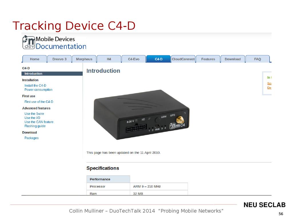 """56 Collin Mulliner – DuoTechTalk 2014 """"Probing ..."""