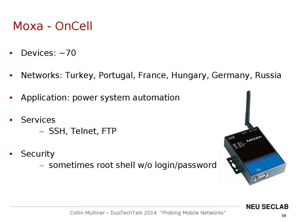"""59 Collin Mulliner – DuoTechTalk 2014 """"Probing ..."""