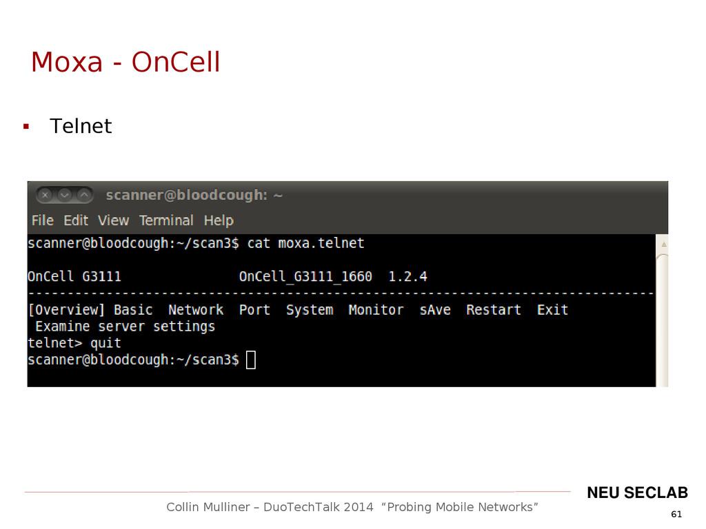 """61 Collin Mulliner – DuoTechTalk 2014 """"Probing ..."""