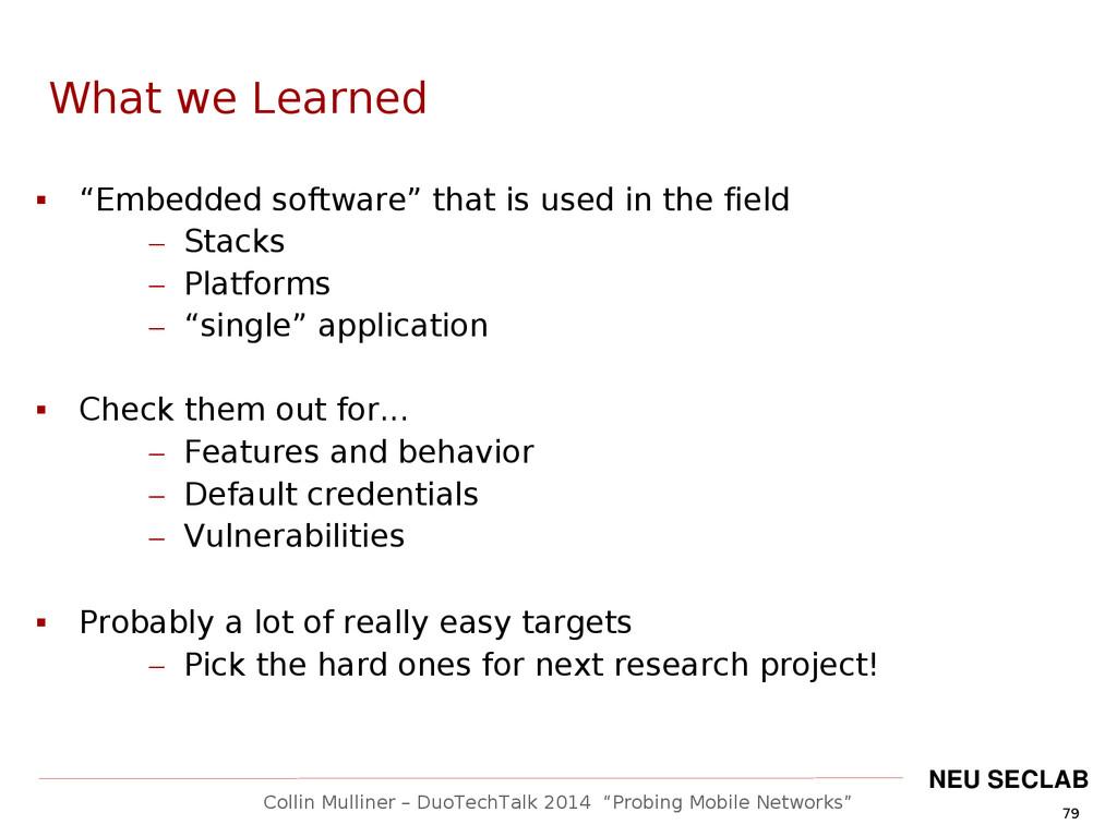 """79 Collin Mulliner – DuoTechTalk 2014 """"Probing ..."""