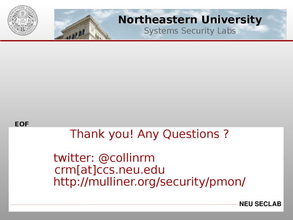 Northeastern University Northeastern University...