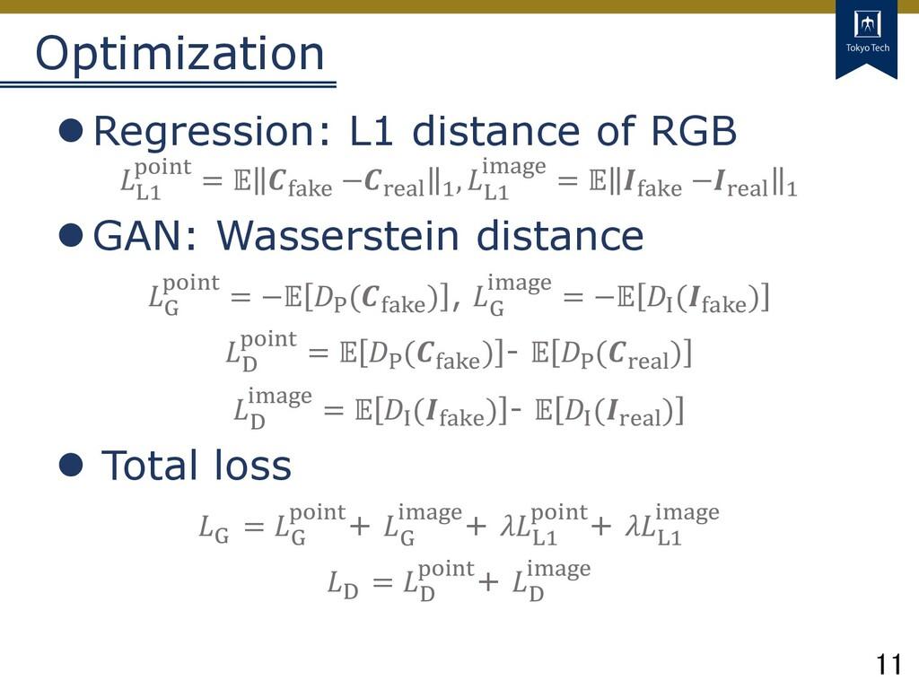 11 Tokyo Tech Optimization lRegression: L1 dist...