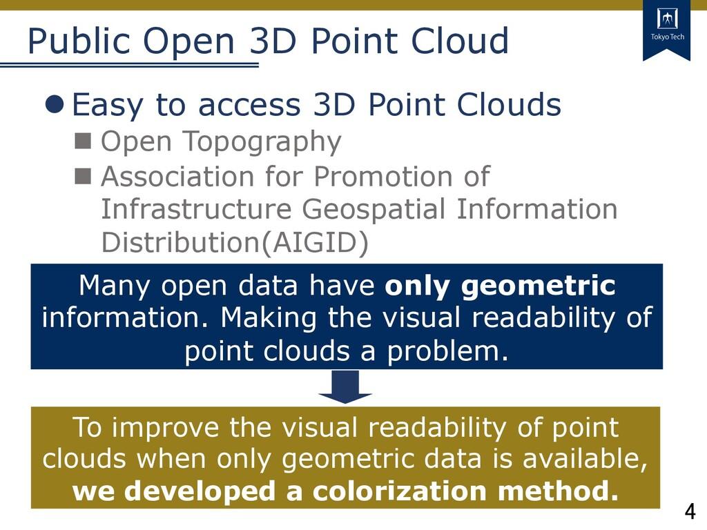 4 Tokyo Tech Public Open 3D Point Cloud lEasy t...