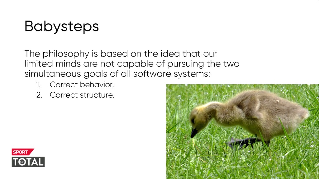 @PreusslerBerlin Babysteps The philosophy is ba...