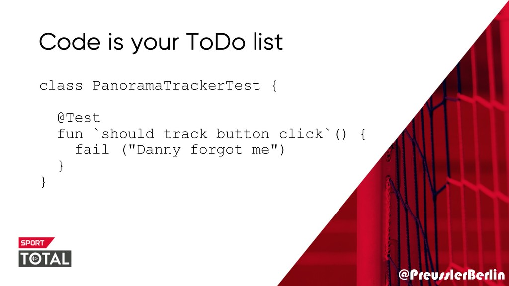@PreusslerBerlin Code is your ToDo list class P...