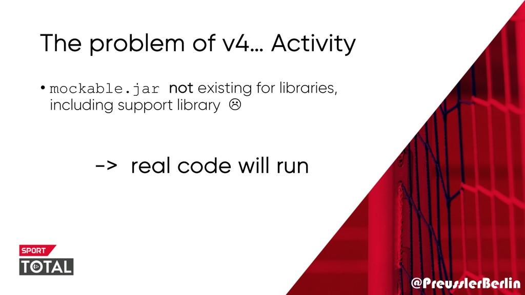 @PreusslerBerlin The problem of v4… Activity • ...