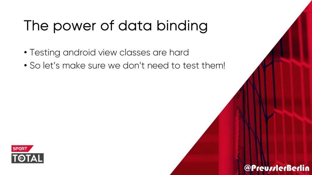 @PreusslerBerlin The power of data binding • Te...