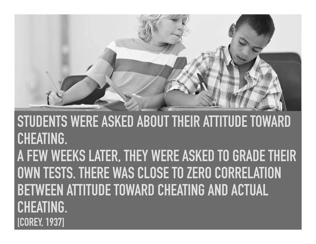 STUDENTS WERE ASKED ABOUT THEIR ATTITUDE TOWARD...