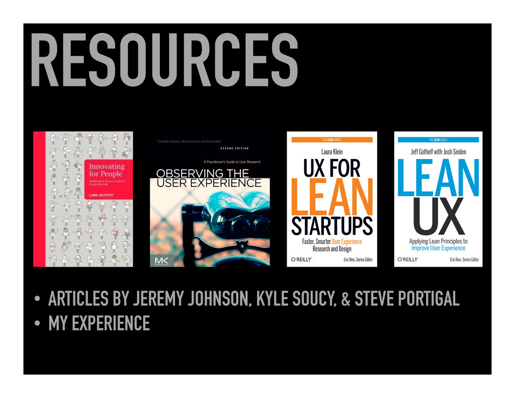RESOURCES • ARTICLES BY JEREMY JOHNSON, KYLE S...