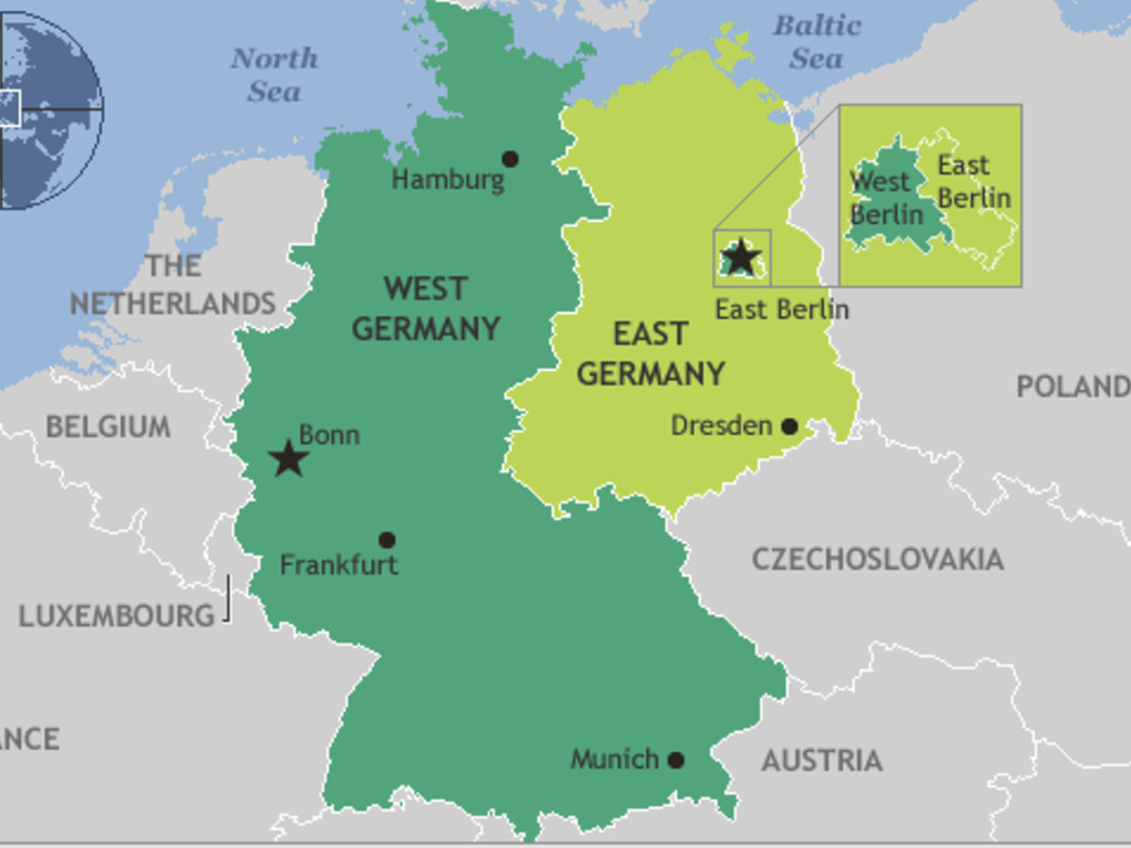 east germany vs west germany