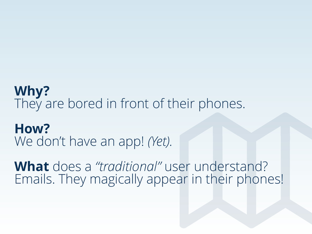 Why? They are bored in front of their phones. !...