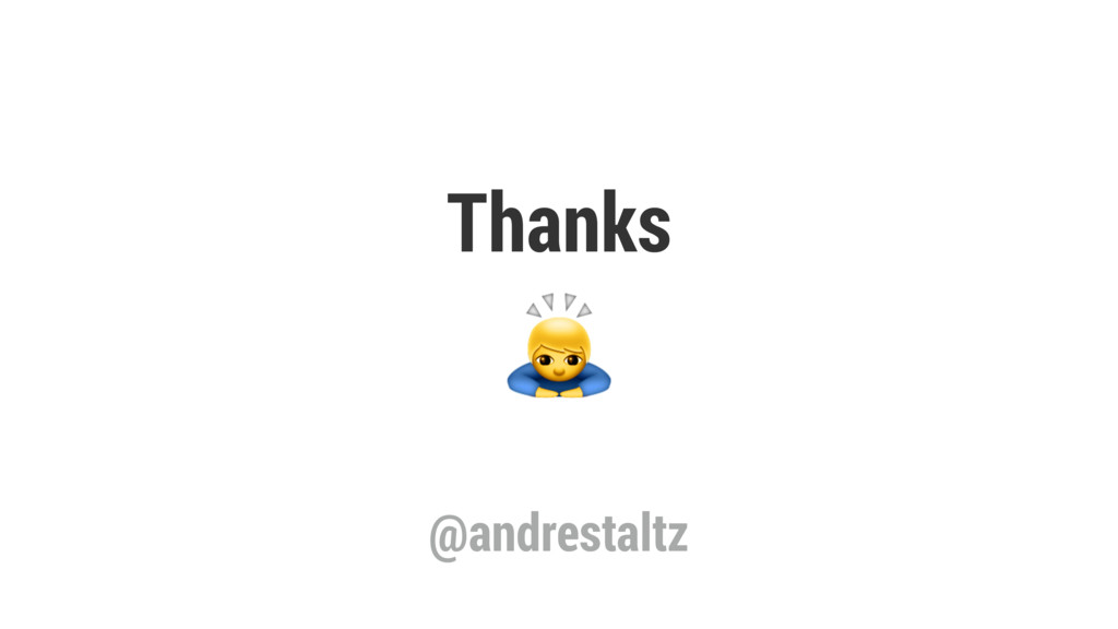 Thanks @andrestaltz
