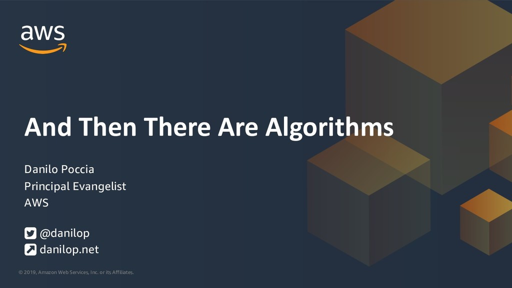 And Then There Are Algorithms – Part 1