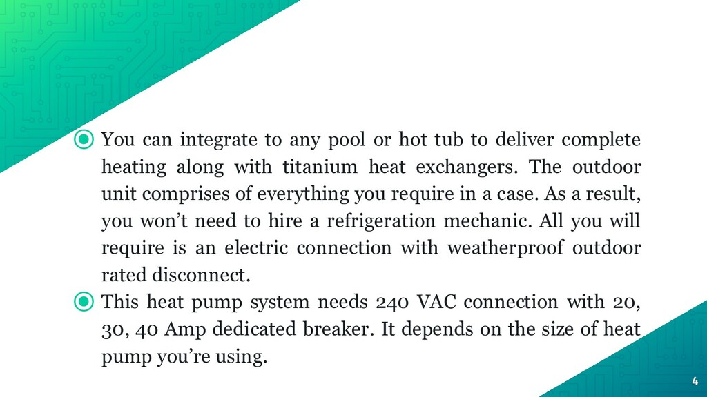 ⦿ You can integrate to any pool or hot tub to d...