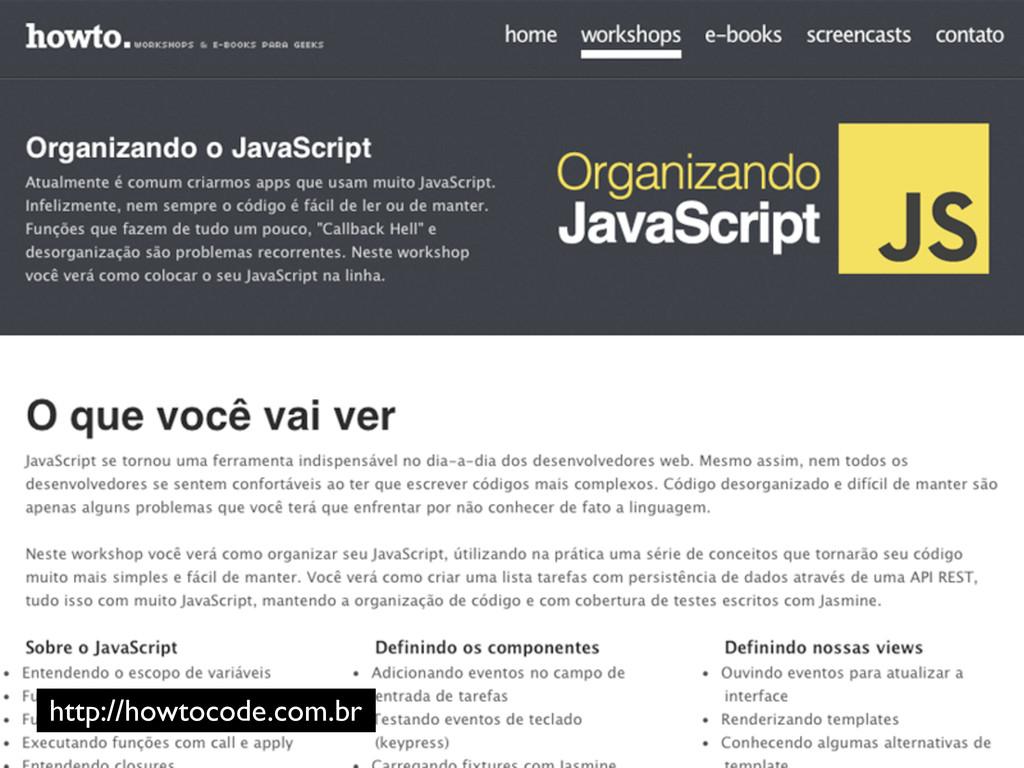 http://howtocode.com.br
