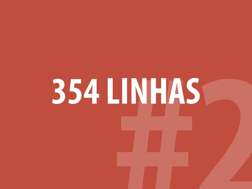 354 LINHAS