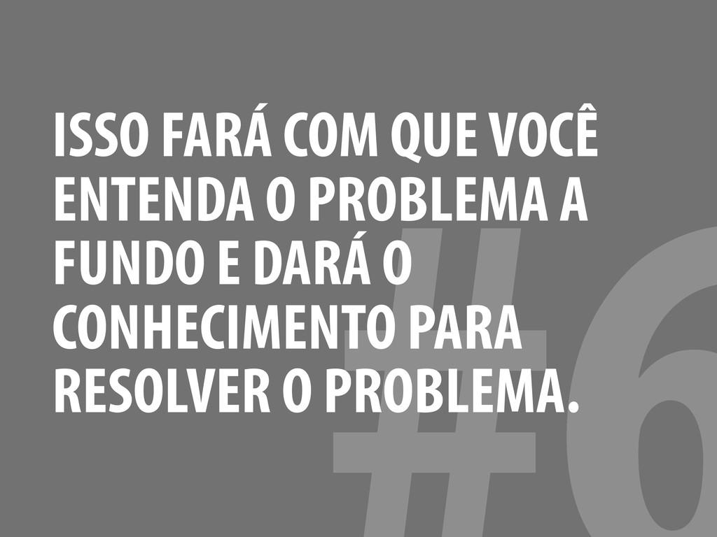 ISSO FARÁ COM QUE VOCÊ ENTENDA O PROBLEMA A FUN...