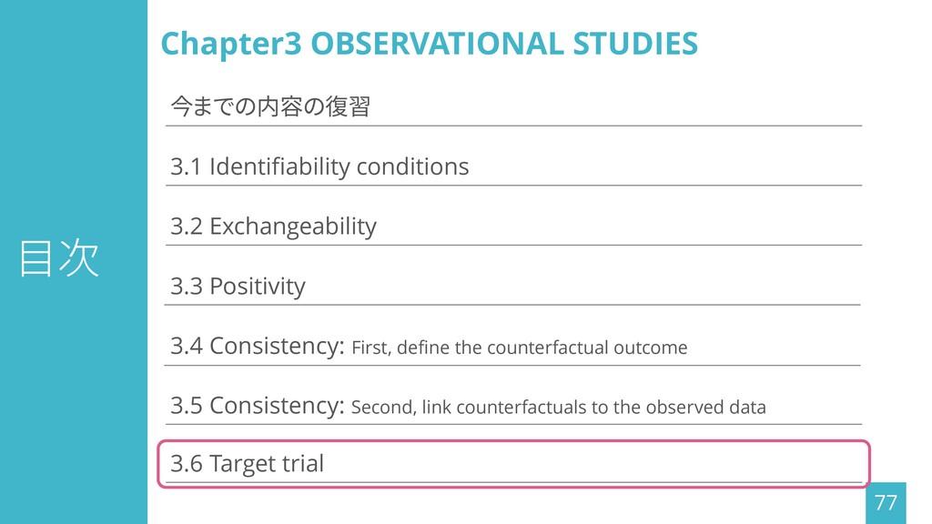 目次 77 3.1 Identifiability conditions 3.3 Positi...