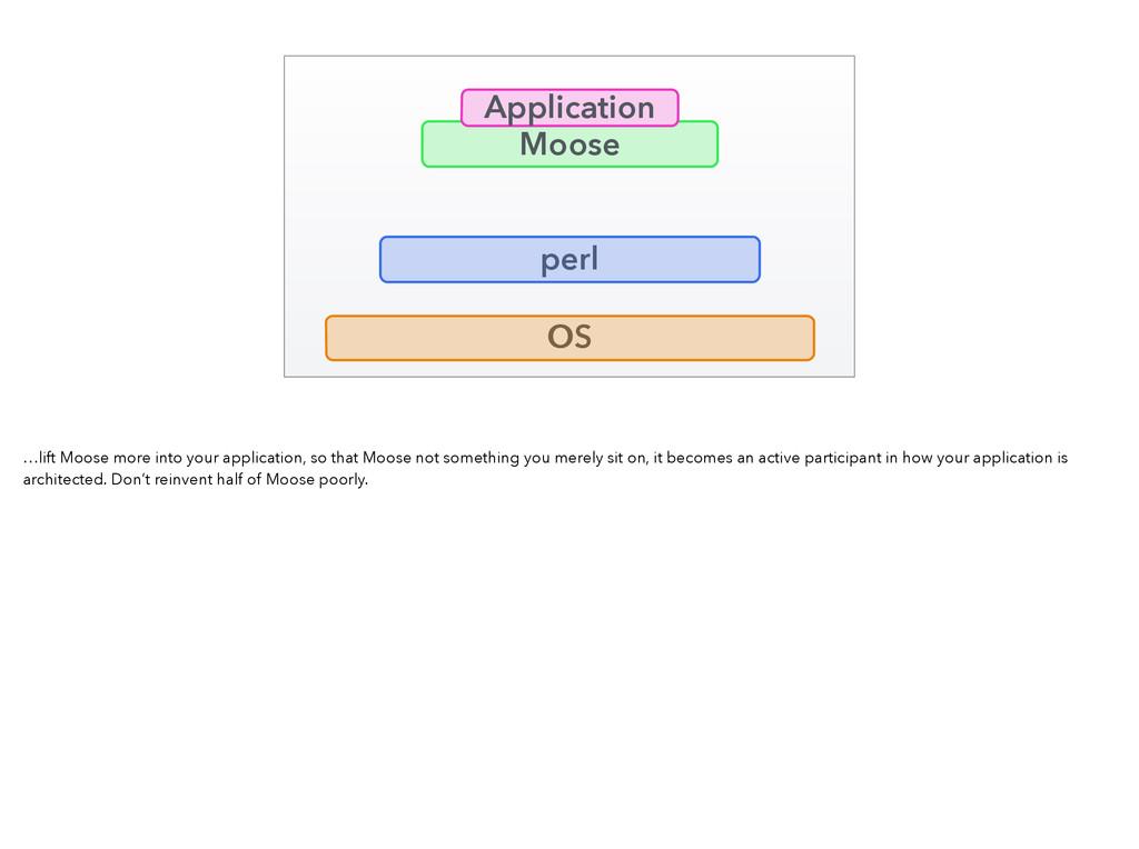 Application Moose perl OS …lift Moose more into...