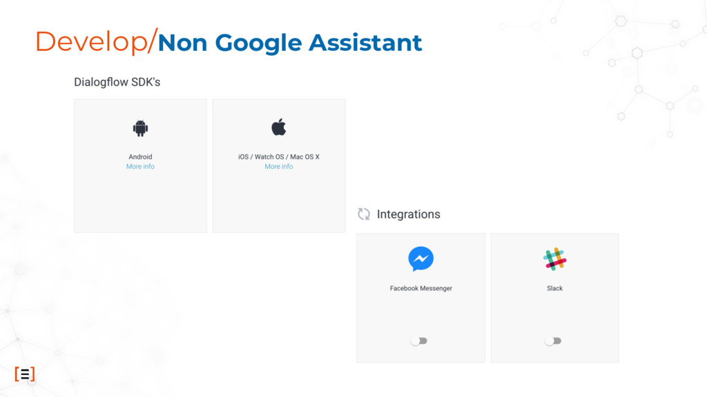 Develop/Non Google Assistant