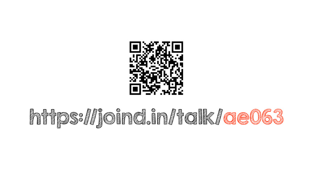 https://joind.in/talk/ae063
