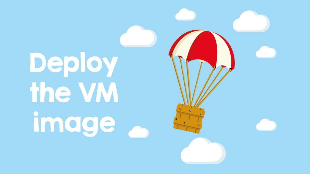 Deploy the VM image
