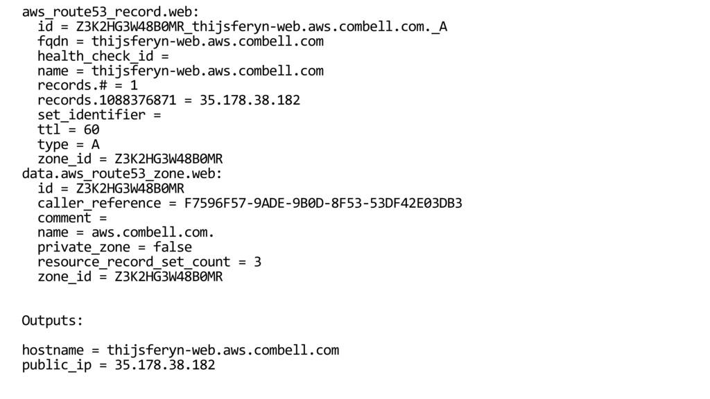 aws_route53_record.web: id = Z3K2HG3W48B0MR_thi...