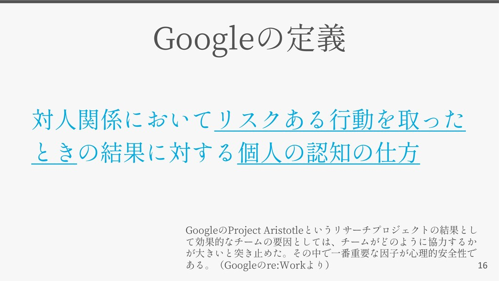 16 Google Google Project Aristotle Google re:Wo...