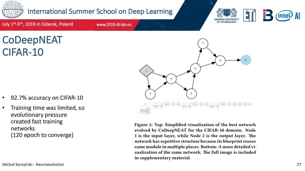 International Summer School on Deep Learning Mi...