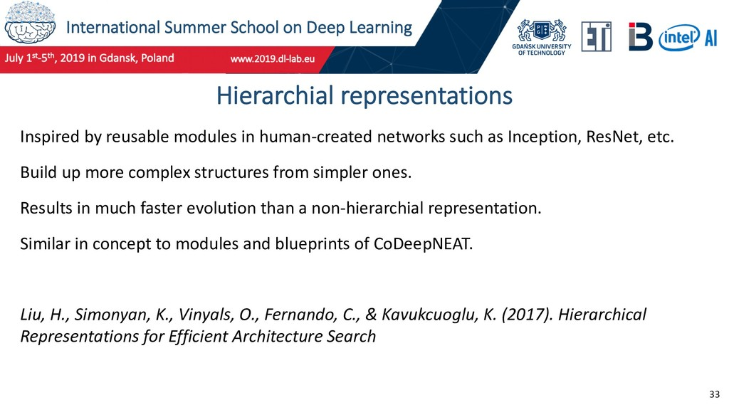 International Summer School on Deep Learning 33...