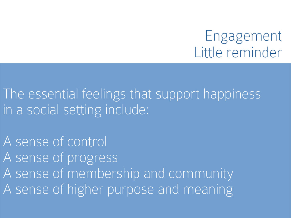 The essential feelings that support happiness i...