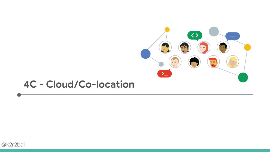 @k2r2bai 4C - Cloud/Co-location