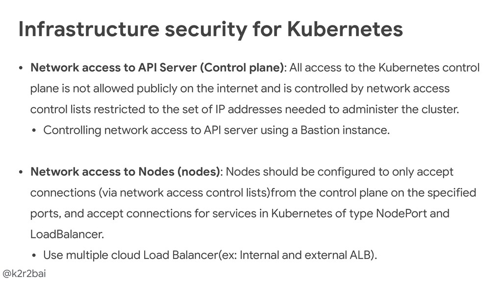 @k2r2bai • Network access to API Server (Contro...