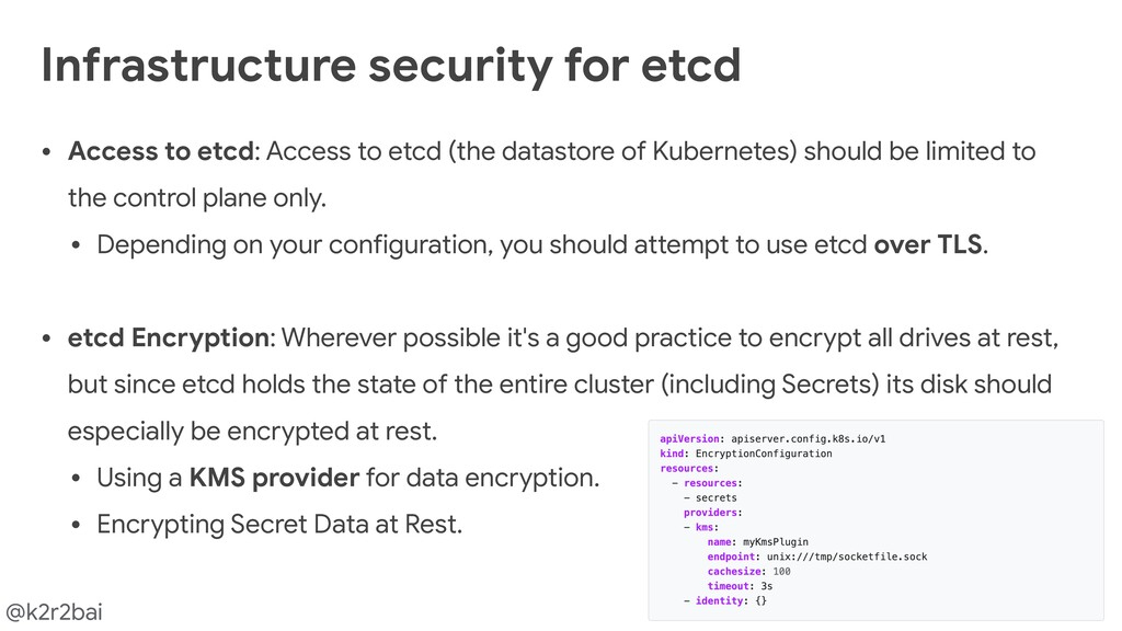 @k2r2bai • Access to etcd: Access to etcd (the ...