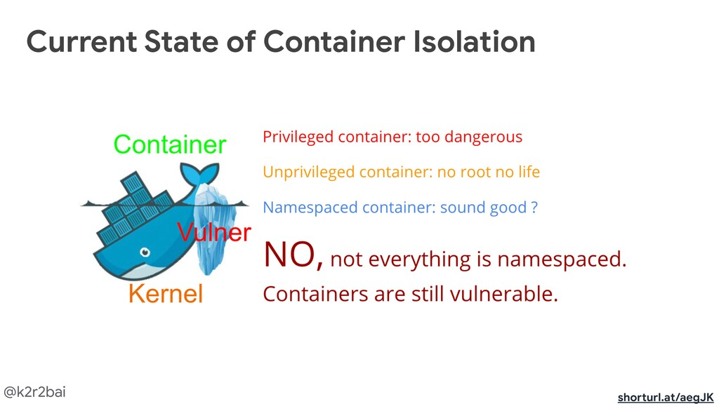 @k2r2bai Current State of Container Isolation s...