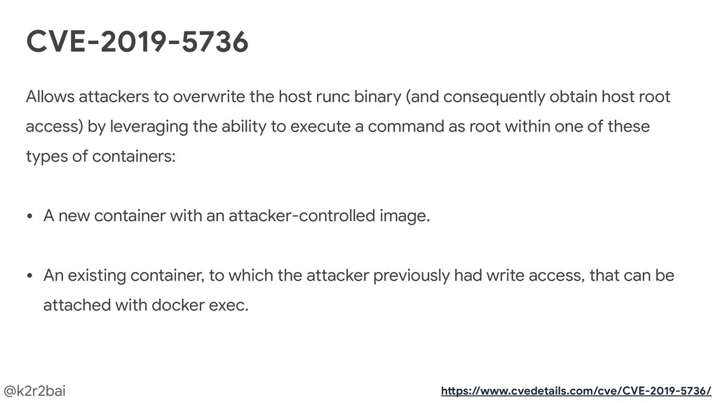 @k2r2bai Allows attackers to overwrite the host...