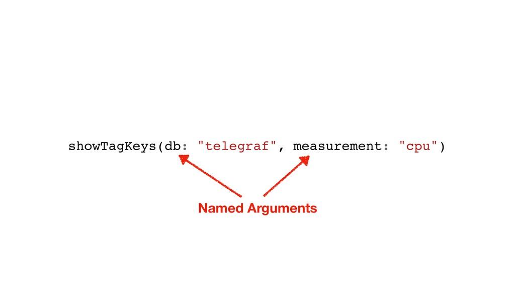 "showTagKeys(db: ""telegraf"", measurement: ""cpu"")..."