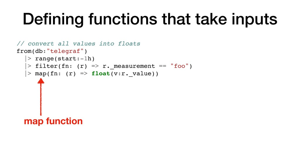 Defining functions that take inputs // convert a...