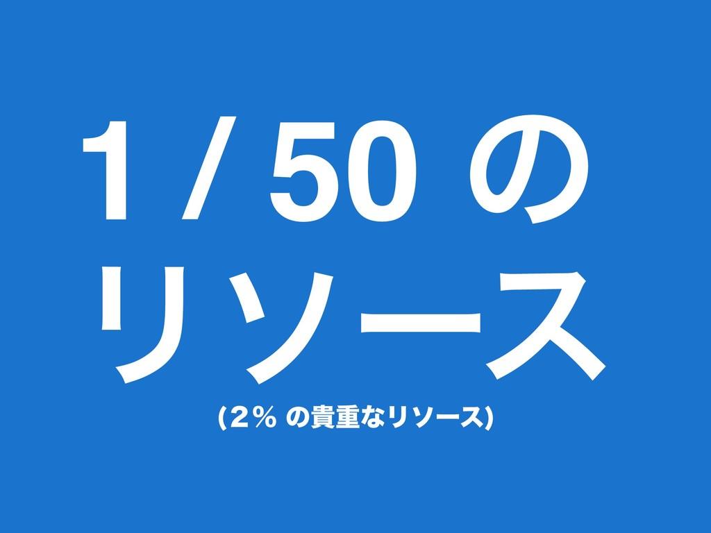 1 / 50 ͷ Ϧιʔε ̎ˋͷوॏͳϦιʔε