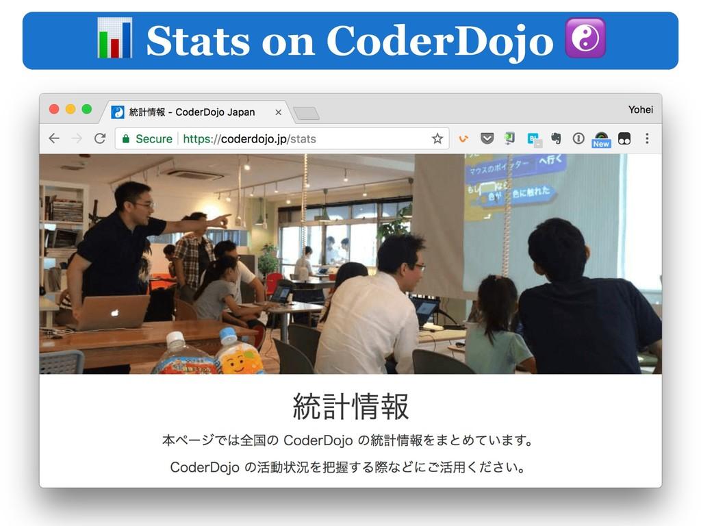 Stats on CoderDojo ☯