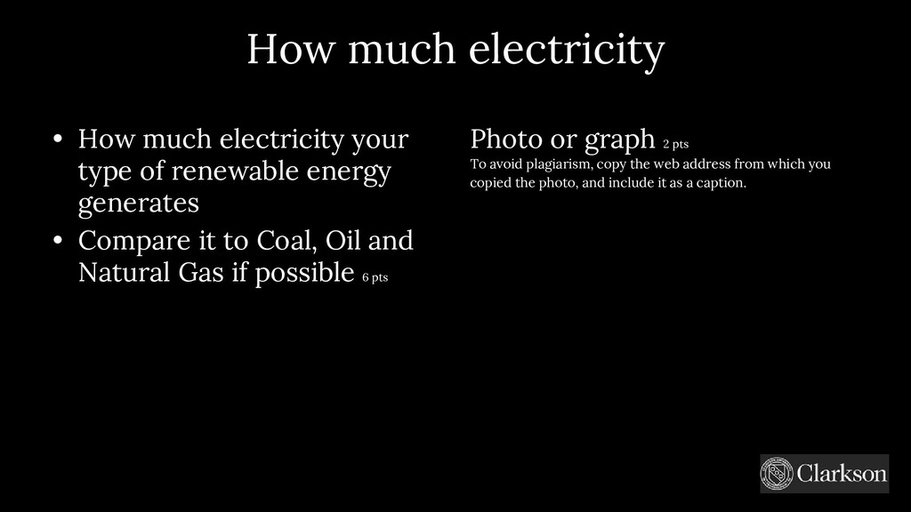 How much electricity • How much electricity you...