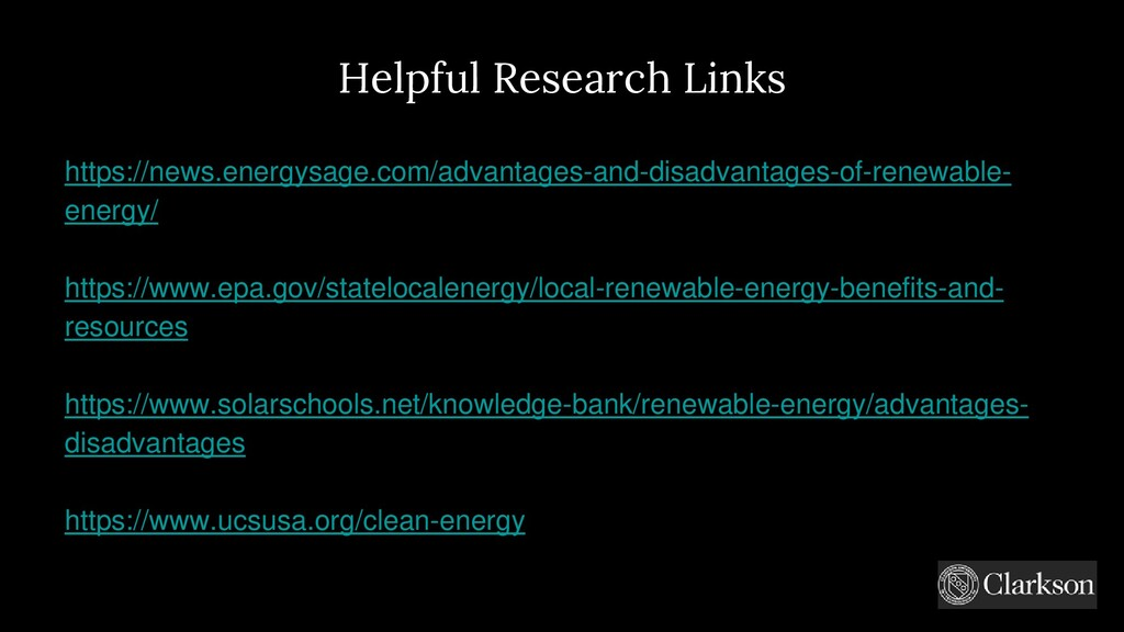 Helpful Research Links https://news.energysage....