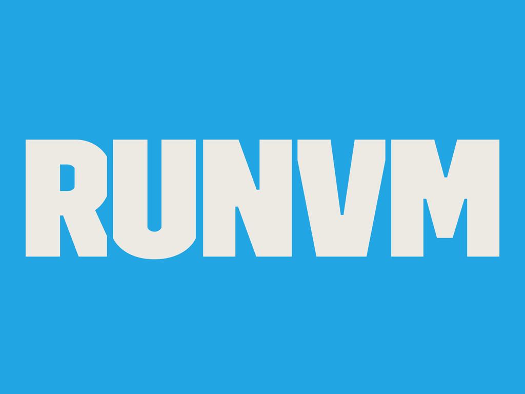 RunVM
