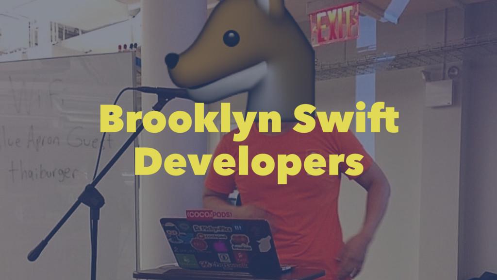 Brooklyn Swift Developers
