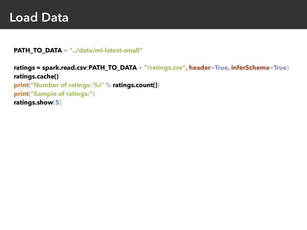 "Load Data PATH_TO_DATA = ""../data/ml-latest-sma..."