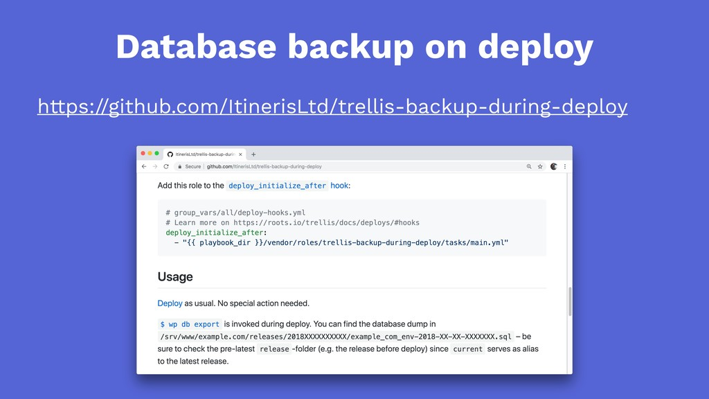 Database backup on deploy https://github.com/It...